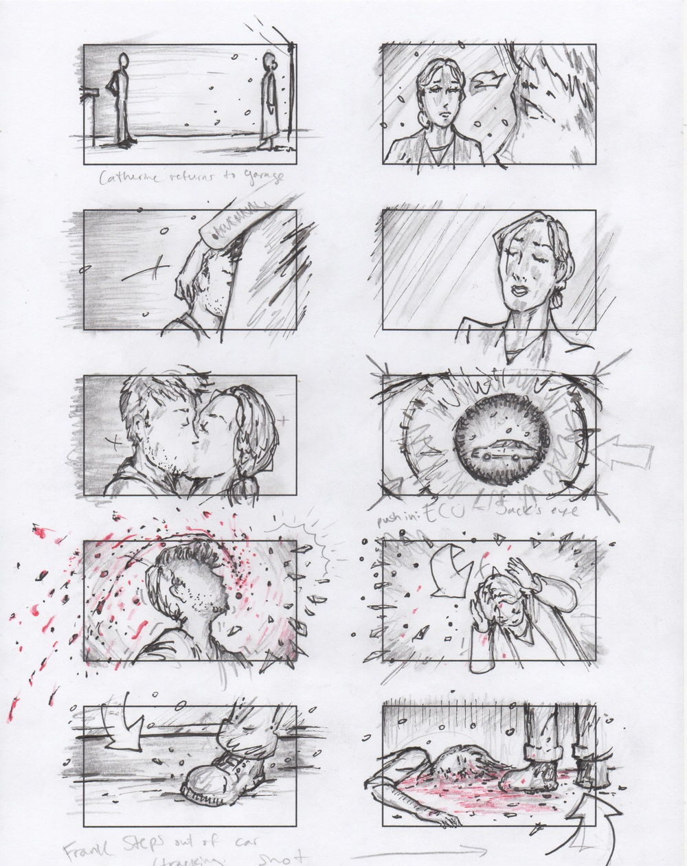 Jim Penola - Storyboards - Short Film - Un Oueuf is Enough 2.jpeg