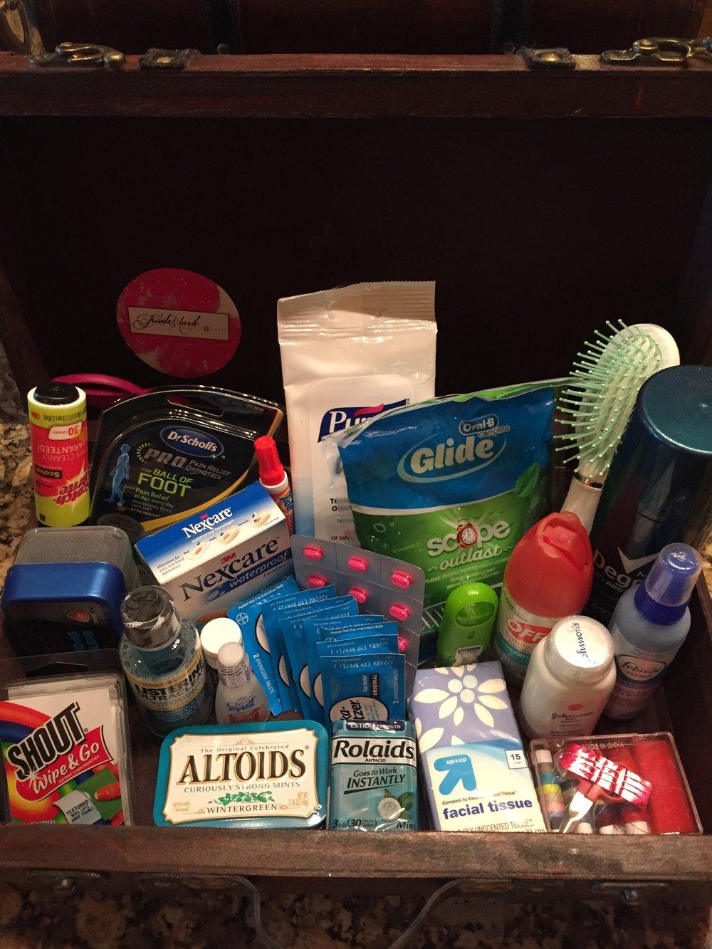 The Groom's Lounge Emergency Kit
