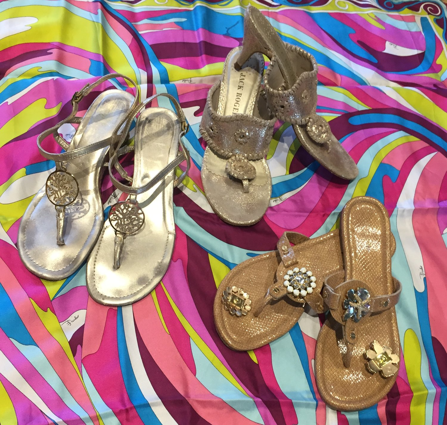 5b0c98aa5 Heading to a wedding this spring or summer and want to keep your footwear  more on the casual/beachy side of things? Here are three of our favorites!