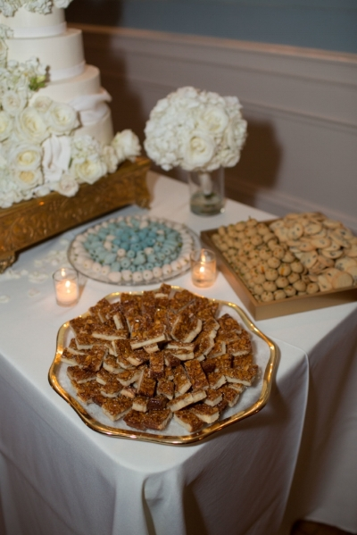 - Katie wanted to find a few ways to honor her Iranian culture. In addition to adding some fun elements into their ceremony, the couple opted for authentic Persian desserts alongside their gorgeous cake.Little touches like these are what make weddings so fun for us. No two events are the same, just as no two couples are the same.Cheers to Katie + Michael; we wish you both a lifetime of happiness! Thank you for letting us be a part of your special day!