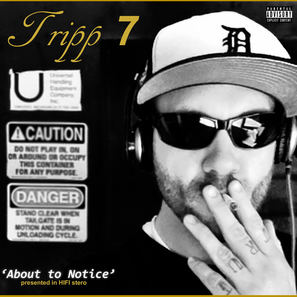About to Notice  by Tripp 7  Single Release  Produced by: Josh Roupe.    2015