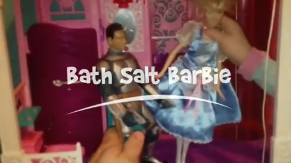 Bath Salt Barbie