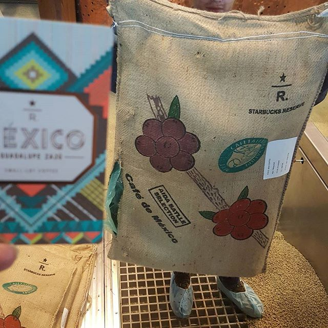 The bag for the October subscription Reserve coffee (Mexico Guadalupe) is so pretty!