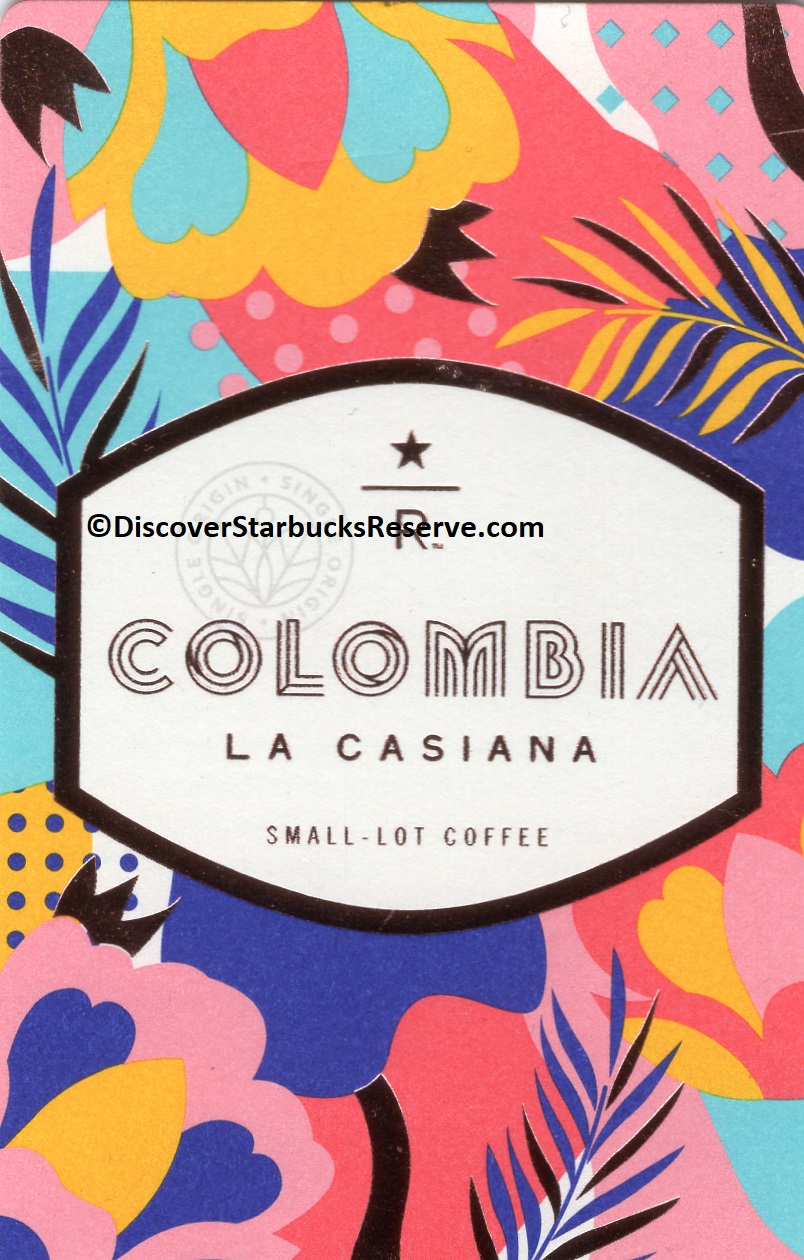 2 - 1 - Front of Colombia La Casiana card.jpg