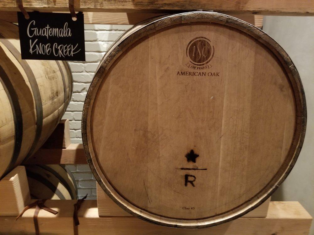 9.12.18 Knob Creek American Oak Whiskey Barrels.jpg