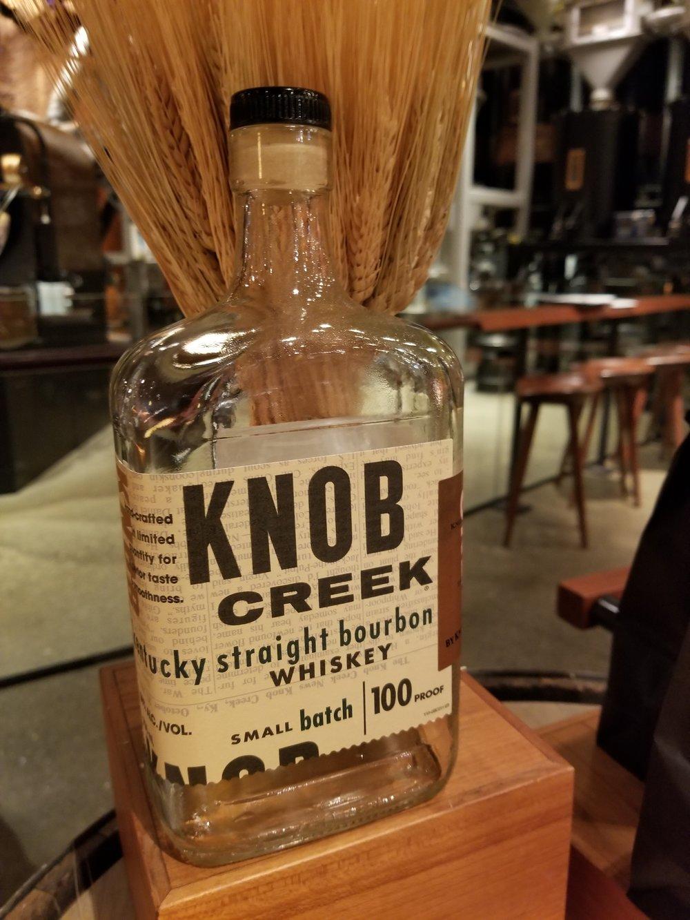9.12.18 Knob Creek Whiskey Bottle.jpg