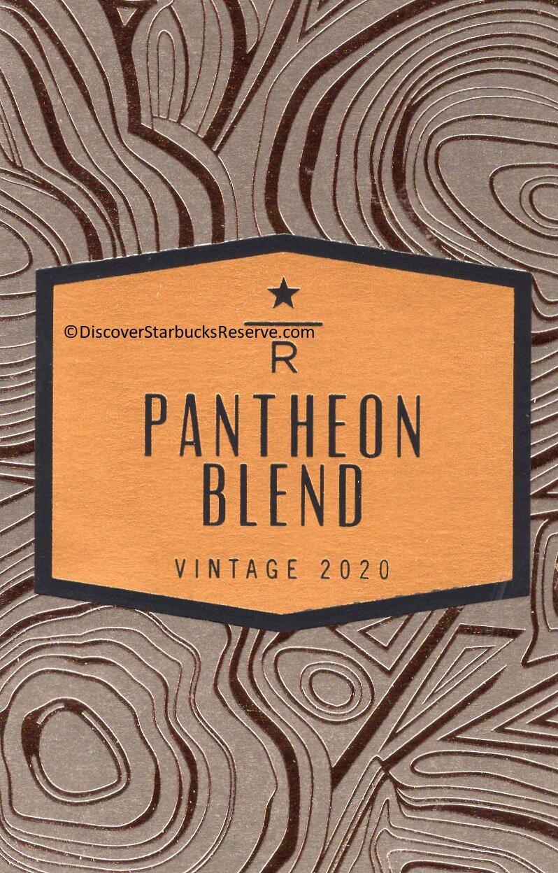 Pantheon Blend Vintage 2020 — Discover Starbucks Reserve