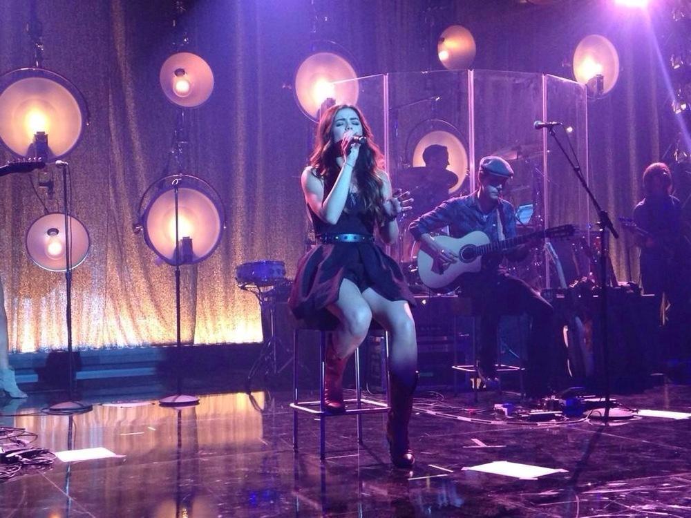 Lucy-Lance-iHeartRadio-nervous girls.JPG