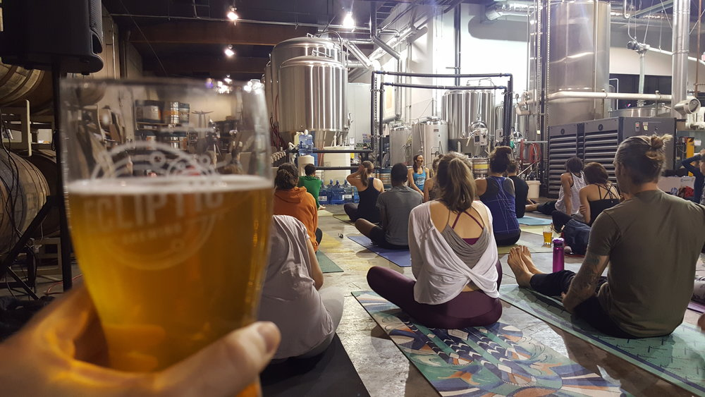 Ecliptic Brewing Yoga and Beer