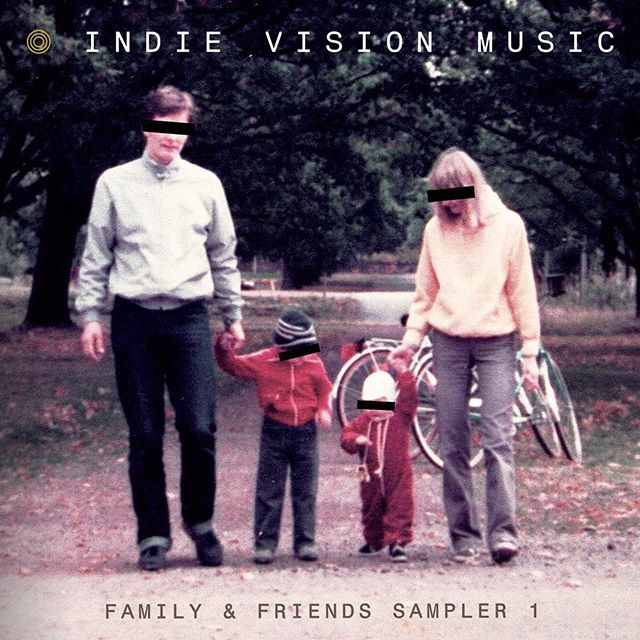 "Thanks to @indievisionmusic for including ""Warning Sign"" on this ""Family & Friends"" sampler! Link in our bio."