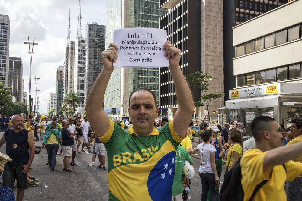 Brazil Anti-Corruption Protest
