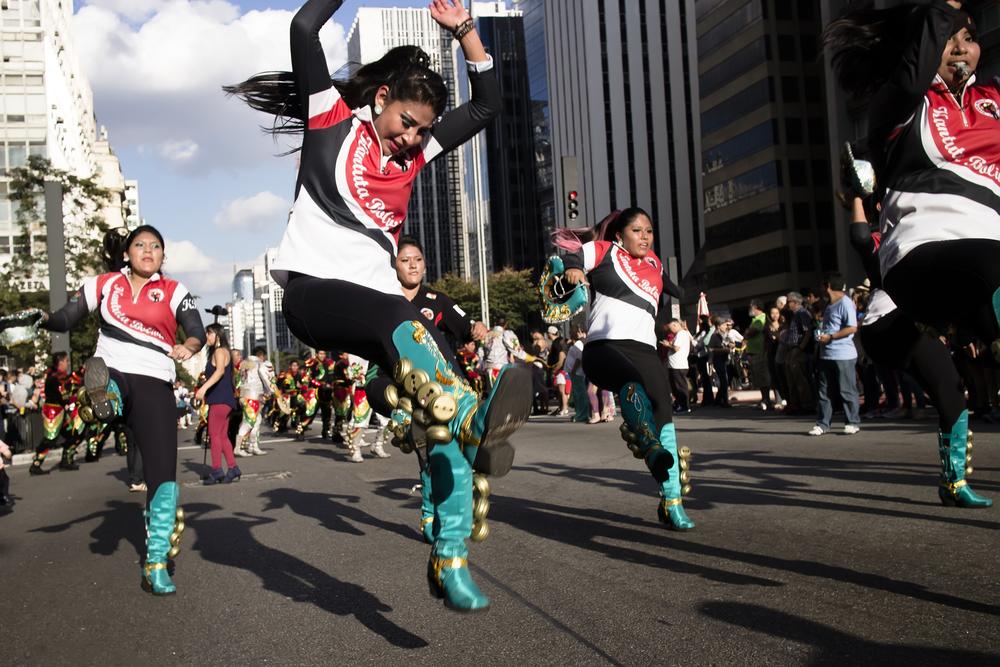 Bolivian Folk Dancers