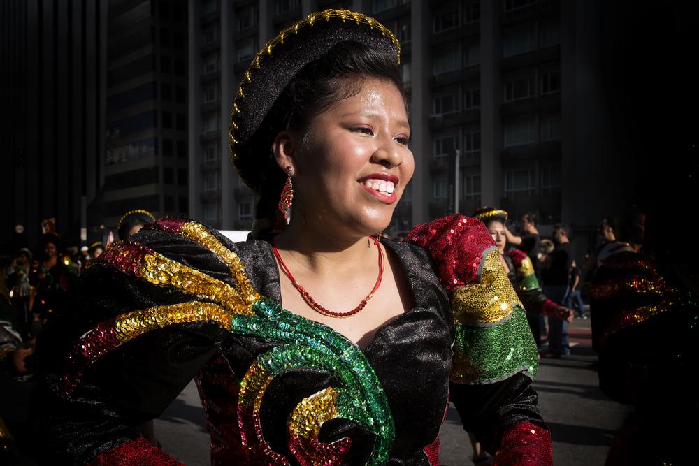 Bolivian Folk Dancer
