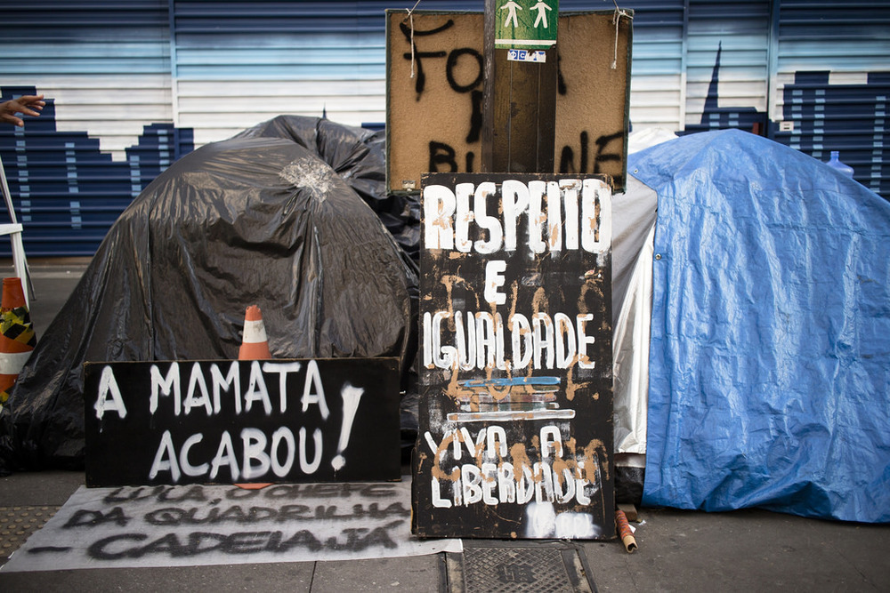Brazil Anti-Government Protest Signs