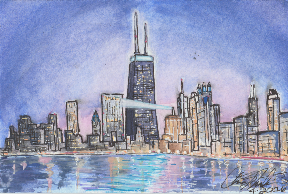 Chi_North_Ave_Beach_Night_Watercolor_2016.png