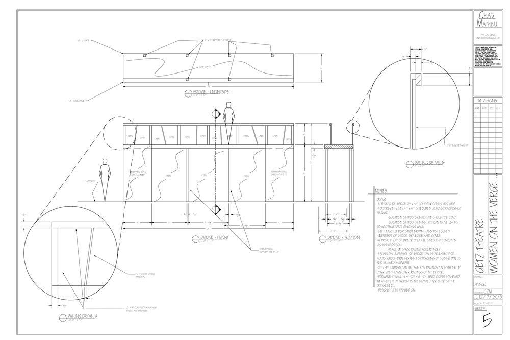 Bridge Plate in AutoCAD