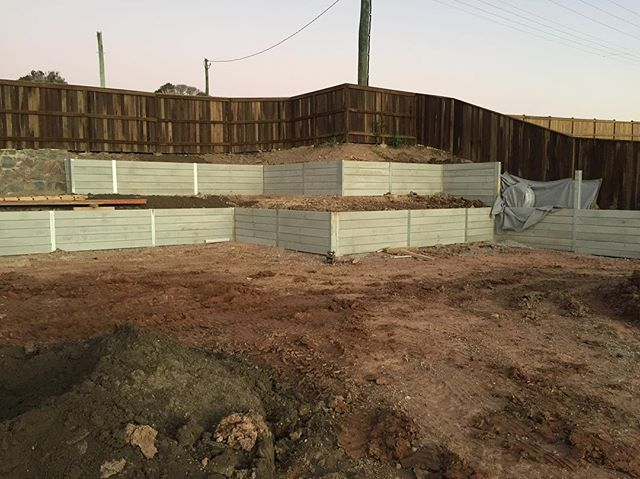 #construction #retainingwalls