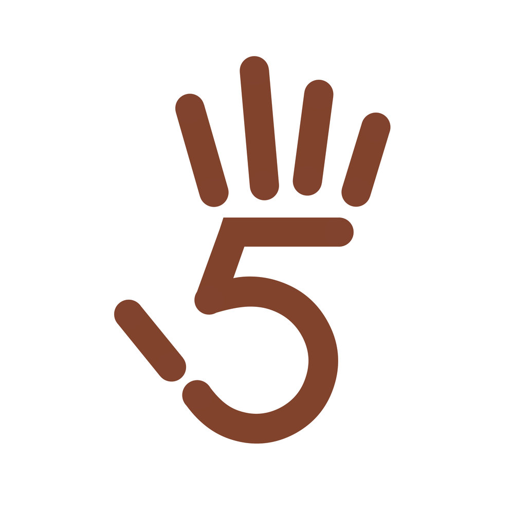 5 is for hifive.jpg