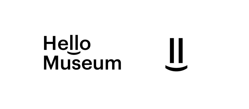 Saying hello to greet is an expression of friendly communication. I want to apply a hidden smiley face with typepography in the logo to indicate the friendliness. Also to show that audiences will have a happy and fun experience through different activities they can do in the Hello Museum.