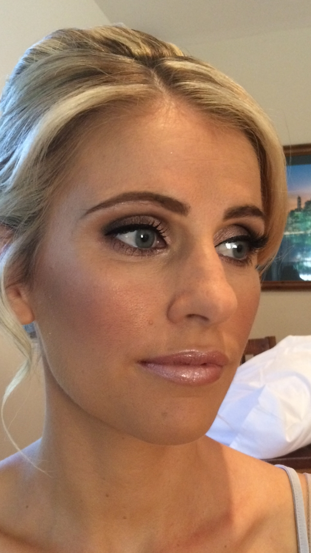 Gold Coast Wedding Makeup Artist : Wedding makeup from yesterdays Gold Coast wedding ...