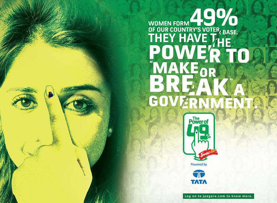 Tata Global Beverages Power of 49 campaign