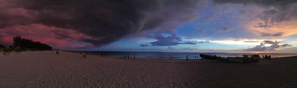 Beautiful Coquina Beach Sunset.