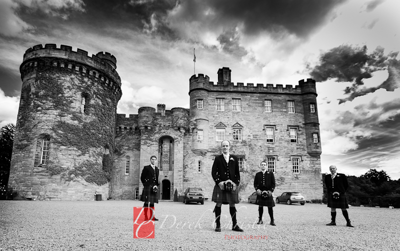 Jodie & Paul's Wedding at Dalhousie Castle-1