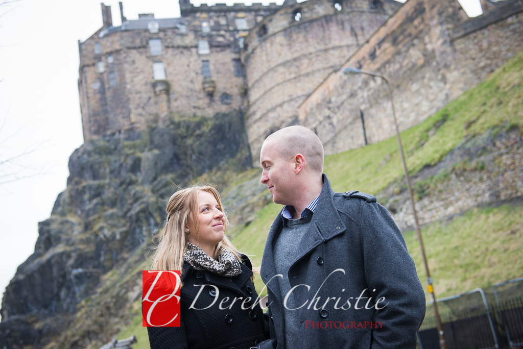 Kyla & Rob Pre Wedding in Edinburgh-10