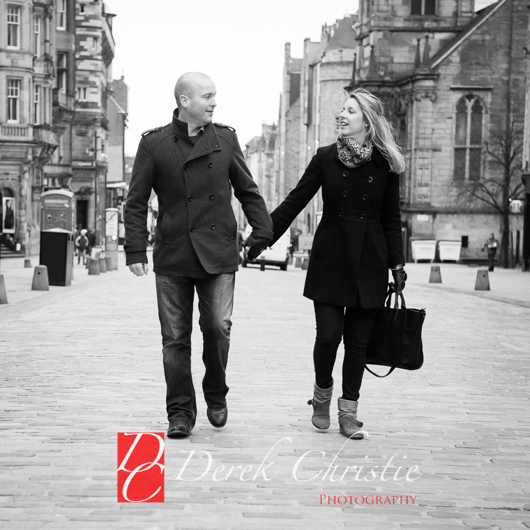 Kyla & Rob Pre Wedding in Edinburgh-18