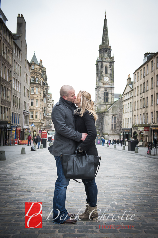 Kyla & Rob Pre Wedding in Edinburgh-19