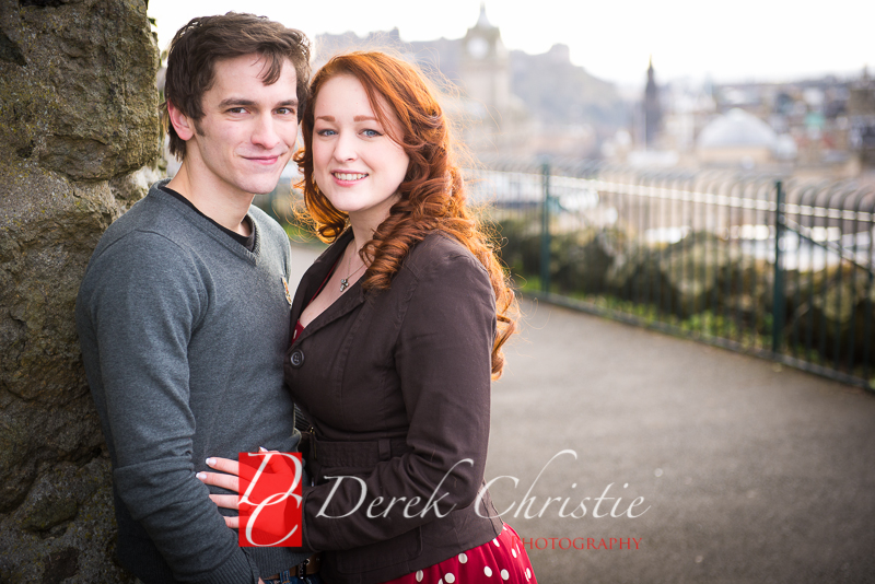 Susan & Dan Edinburgh Pre Wedding Shoot-10