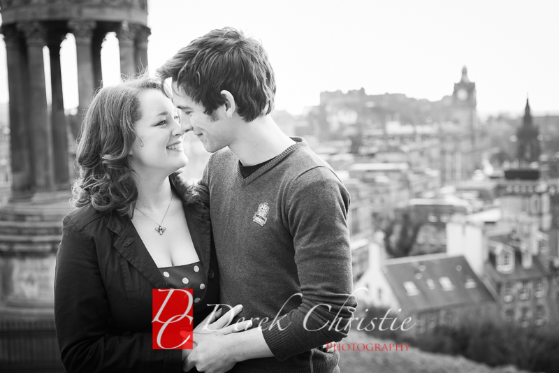 Susan & Dan Edinburgh Pre Wedding Shoot-11