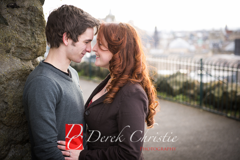Susan & Dan Edinburgh Pre Wedding Shoot-7
