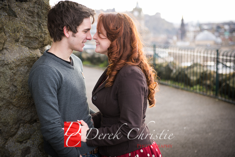 Susan & Dan Edinburgh Pre Wedding Shoot-8