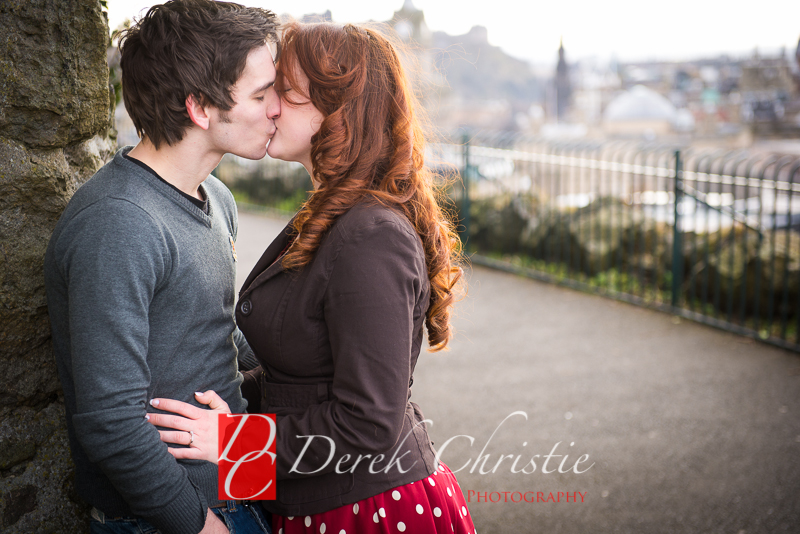 Susan & Dan Edinburgh Pre Wedding Shoot-9