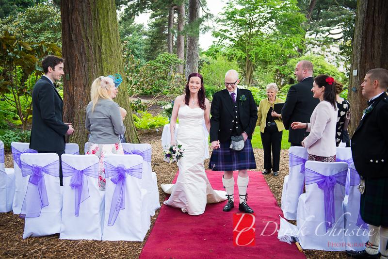 Redwood Trees Botanics Wedding