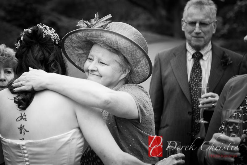 Proud mum Botanics Wedding