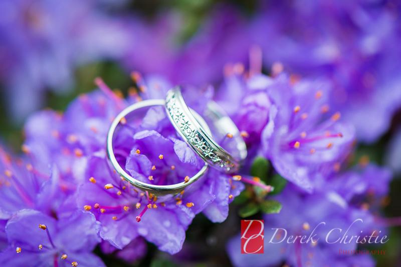 The Rings Botanics Wedding