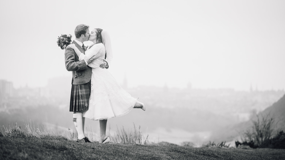 Edinburgh Wedding - Arthurs Seat
