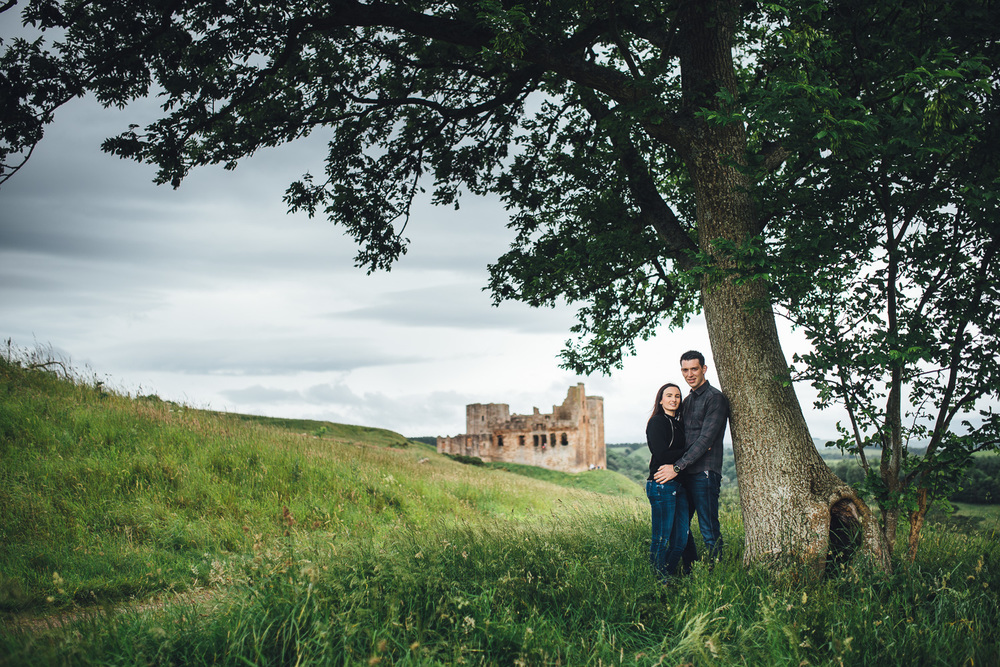 Crichton Castle Engagement - Kirsty & Blair-15.jpg