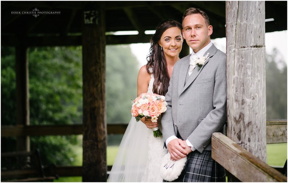 Hazel & Stewart's Wedding at Cornhill Castle, Biggar.