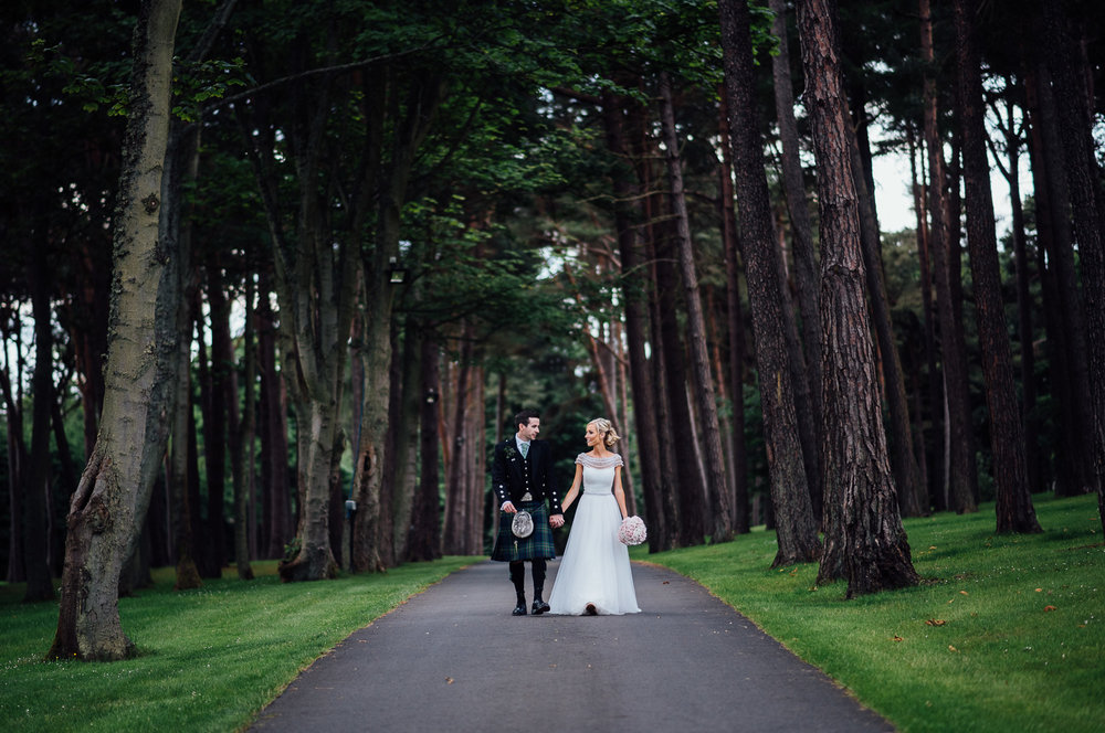 Archerfield Wedding - Ellie & Paul