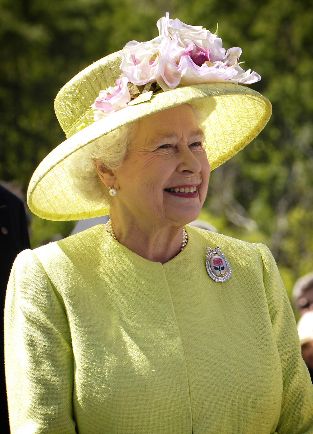 A picture of the queen, because UK? By NASA/Bill Ingalls