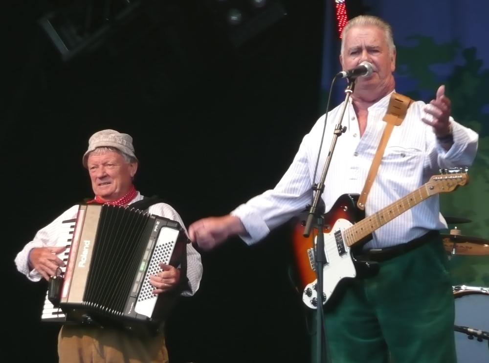 The Wurzels in 2011... I couldn't get a decent image of a farmer... By Maybesometime - Own work, CC BY-SA 3.0