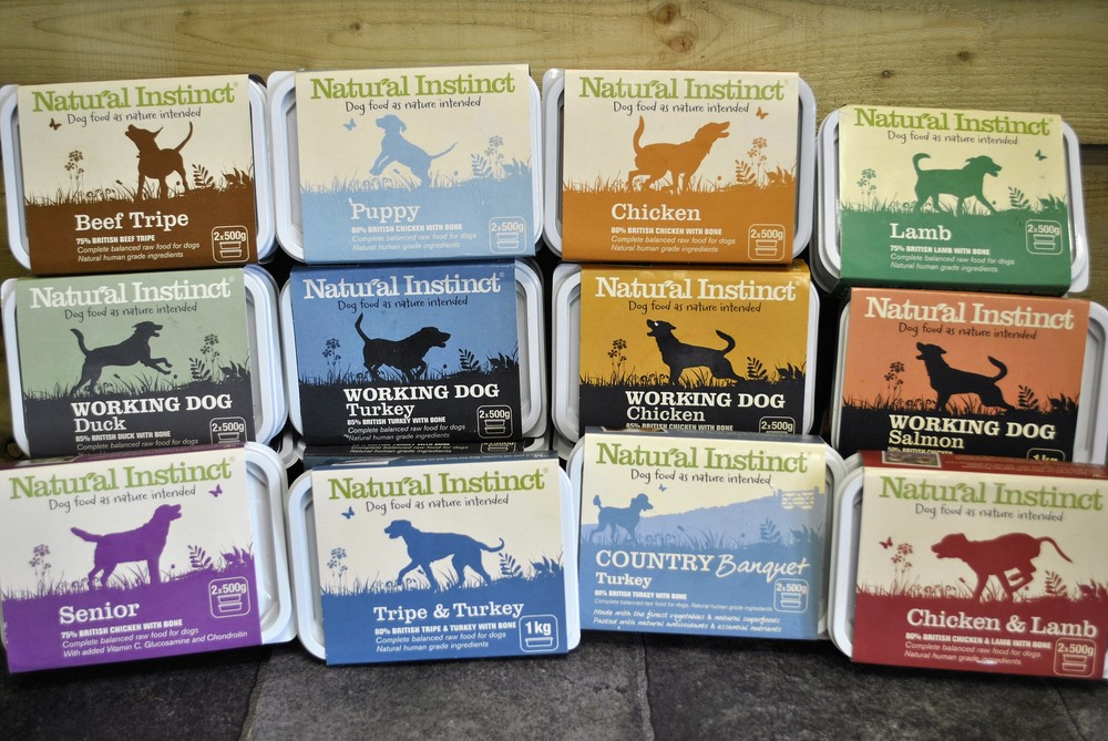 Raw dog food for sale at Ginger&Browns pet shop in Northwich, Chester near Chester, Winsford, Frodsham. Shop in store or buy online.