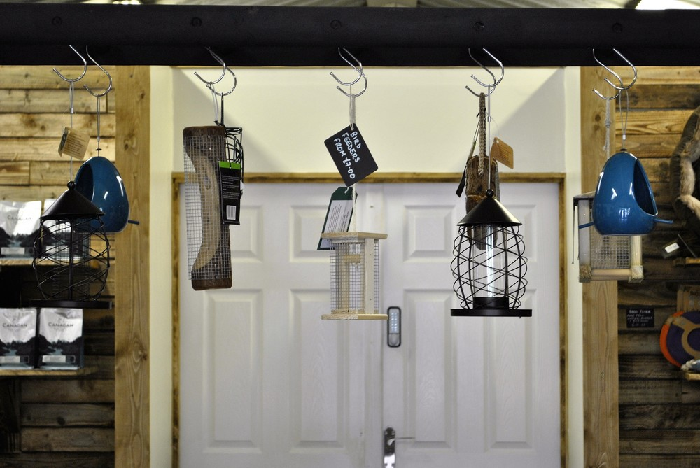 Bird feeders for sale at Ginger&Browns pet shop in Northwich, Chester near Chester, Winsford, Frodsham. Shop in store or buy online.
