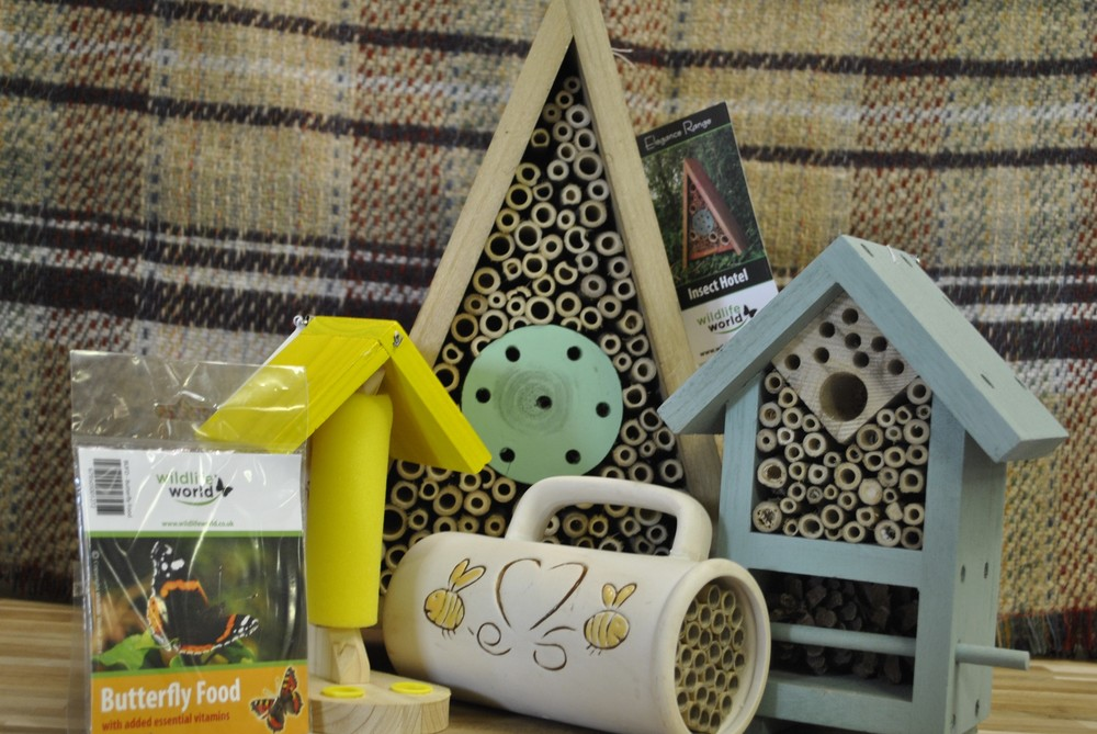 Insect hotels for sale at Ginger&Browns pet shop in Northwich, Chester near Chester, Winsford, Frodsham. Shop in store or buy online.