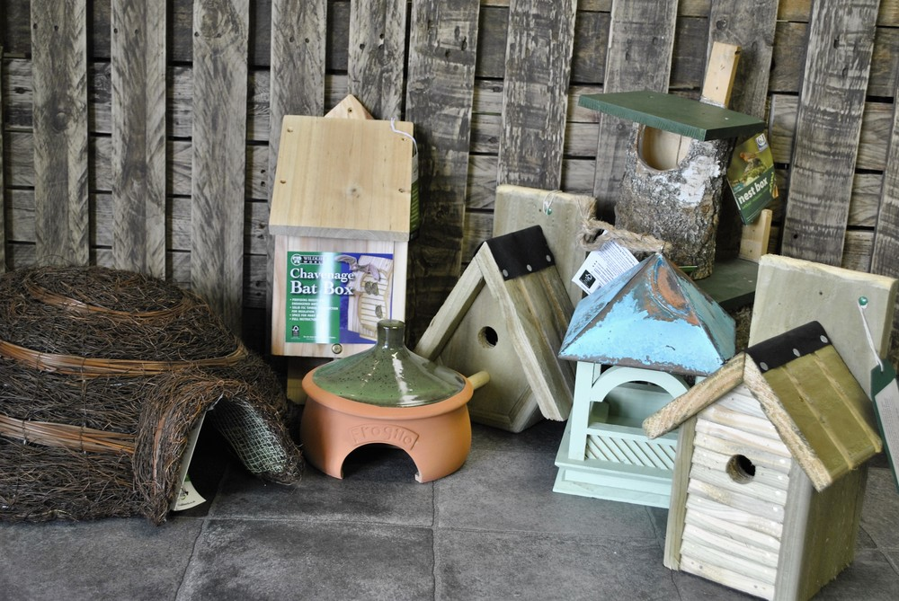 Wildlife houses, toad homes, hedgehog homes and bird boxes for sale at Ginger&Browns pet shop in Northwich, Chester near Chester, Winsford, Frodsham. Shop in store or buy online.