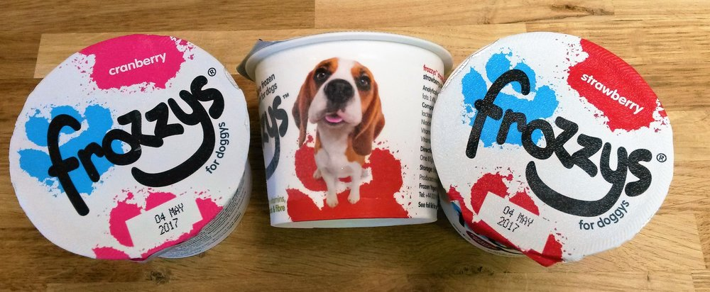 Dog icecream and novelty presents for sale at Ginger&Browns pet shop in Northwich, Chester near Chester, Winsford, Frodsham. Shop in store or buy online.