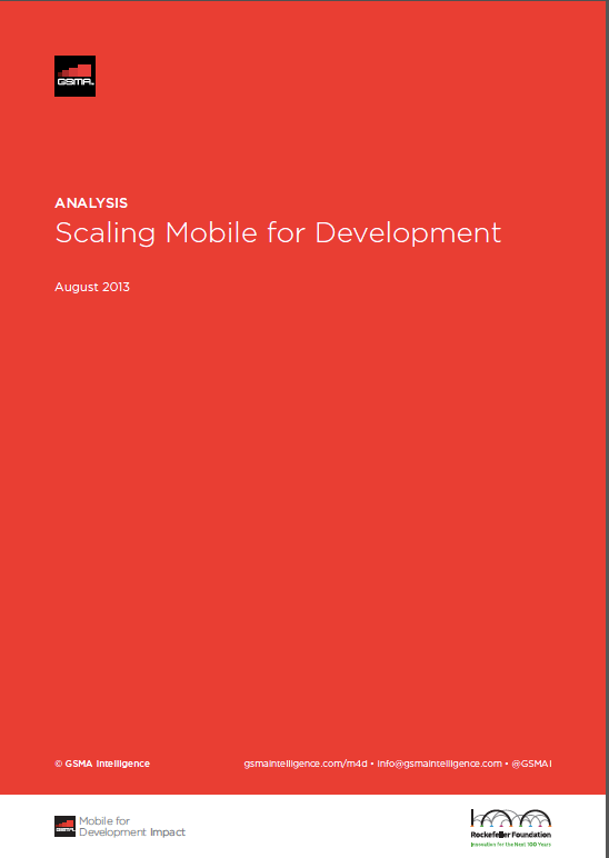 Scaling Mobile for Development